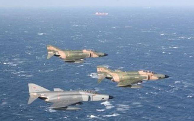 Οκτώ τουρκικά αεροσκάφη εισήλθαν στο FIR Αθηνών χωρίς να καταθέσουν σχέδια πτήσεως
