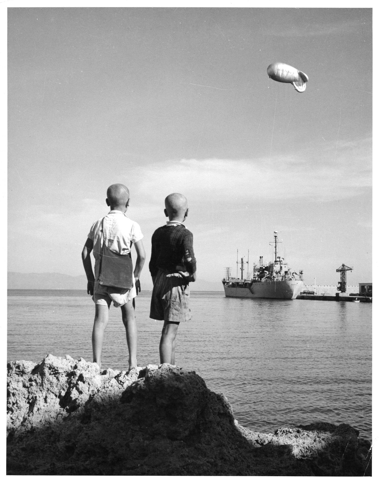 Fig 1 - Two Greek Kids Courier L