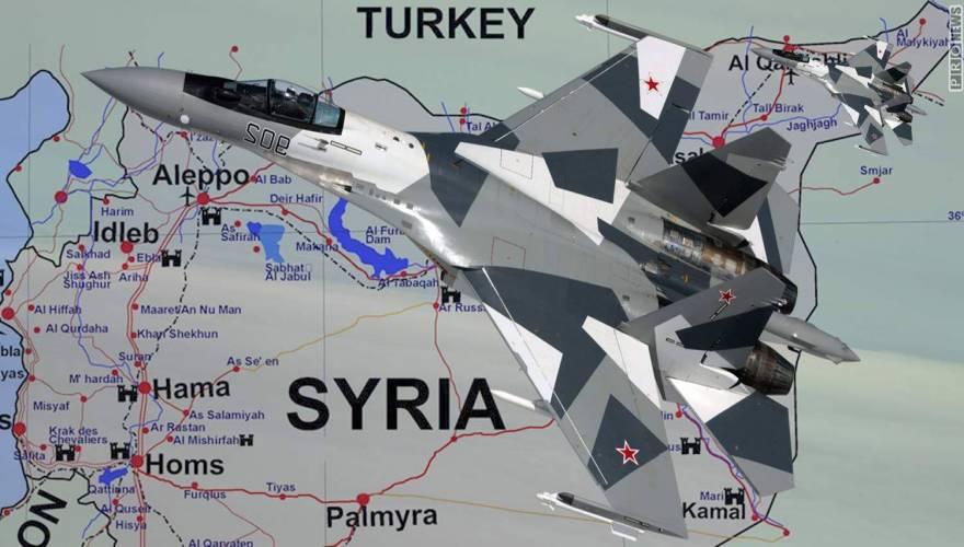 su-35s - syria
