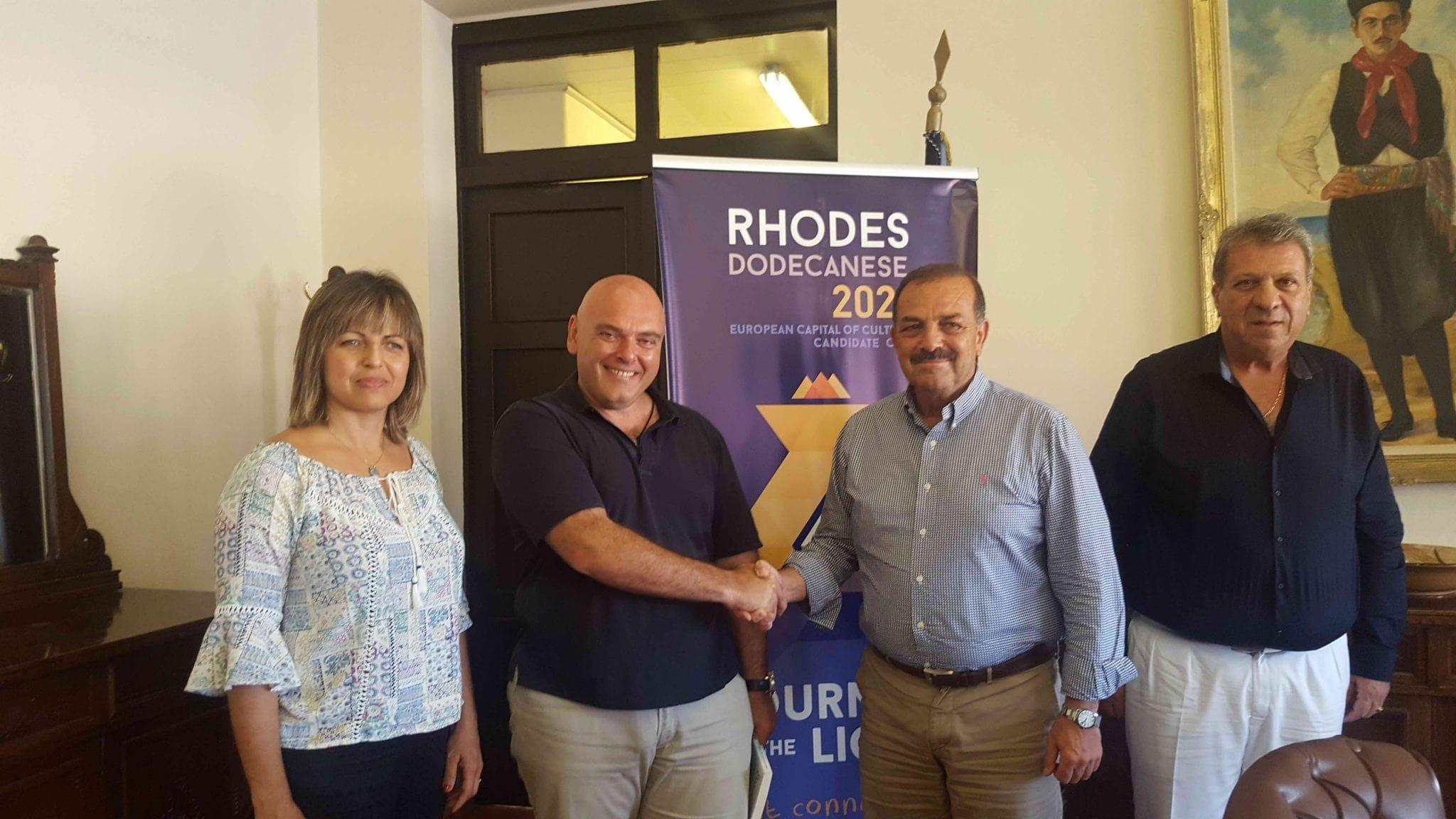20160826_Συνάντηση Δημάρχου με tour operator από Αρμενία