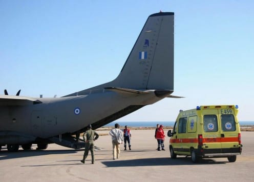 Αερογέφυρα ζωής για μωράκι που γεννήθηκε πρόωρα – Μεταφέρθηκε από τη Ρόδο στο Ηράκλειο