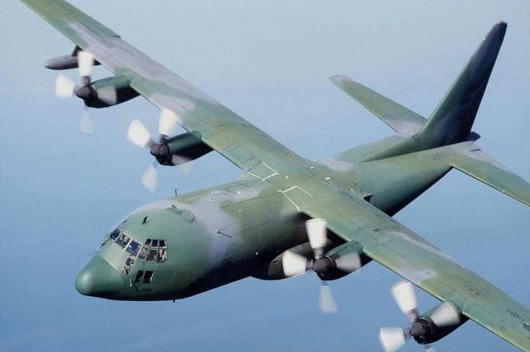 Αεροδιακομιδή απο την Ικαρία στη Ρόδο με c-130