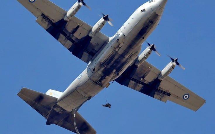 Ελληνικό C-130 και ισραηλινοί κομάντος στην Κύπρο
