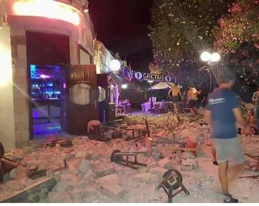 Δύο νεκροί στην Κω – Σοβαρές καταστροφές από τον ισχυρό σεισμό