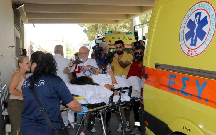 Στις πατρίδες τους οι δυο βαριά τραυματίες του σεισμού στην Κω