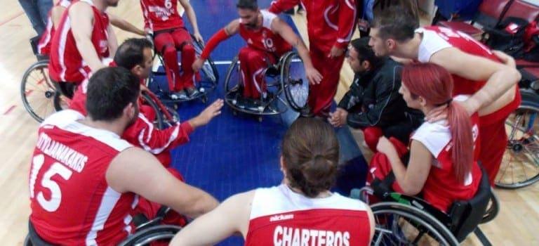 Για το φάιναλ-φορ του κυπέλλου Ελλάδας στο μπάσκετ με αμαξίδιο προετοιμάζεται ο Γ.Σ. Δωδεκάνησος