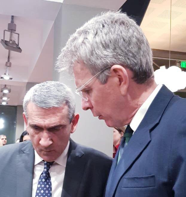 Για τις επενδύσεις στο Νότιο Αιγαίο, συζήτησαν ο Περιφερειάρχης και ο Πρέσβης των ΗΠΑ,  Geoffrey Pyatt, σε εκδήλωση του Αμερικανικού Κολλεγίου