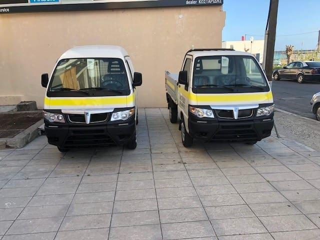 Με νέα οχήματα ενισχύθηκε ο στόλος του Δήμου Ρόδου