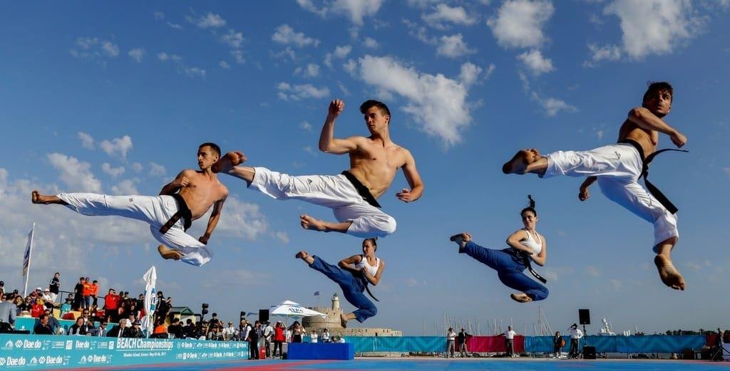 Στη Ρόδο τo Παγκόσμιο Πρωτάθλημα Beach Taekwondo