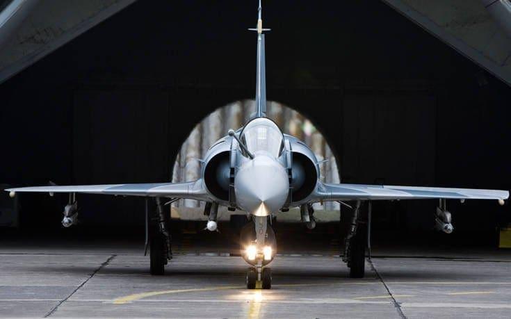 Ξεκίνησε η επιχείρηση ανέλκυσης του Mirage 2000-5