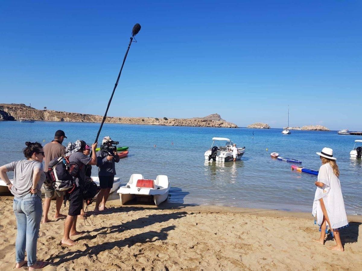 """Η Ρόδος μέσα από το φακό της τηλεόρασης του Ισραήλ – Αφιέρωμα στη Ρόδο από την ταξιδιωτική εκπομπή """"The Feed Travel Show"""" του Ισραηλινού καναλιού 12 Keshet Channel"""