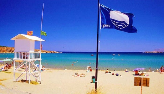 H Ρόδος πρώτη με 35 γαλάζιες σημαίες σε όλη την Ελλάδα