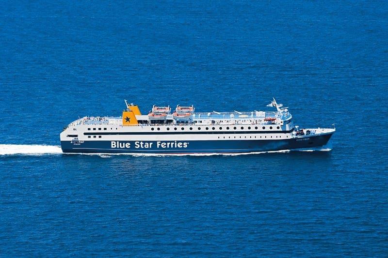 Η Blue Star Ferries συνδέει την Σύμη με Κω-Σαντορίνη-Πειραιά και Ρόδο