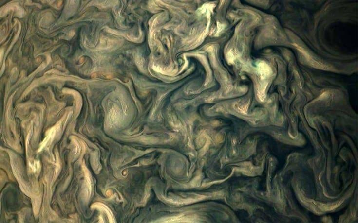 Θαυμάστε τη μαγεία του Δία όπως την κατέγραψε το διαστημικό μάτι της NASA