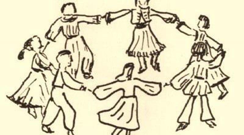 9η Γιορτή Παραδοσιακών Χορών στο θέατρο της μεσαιωνικής τάφρου «Μελίνα Μερκούρη»