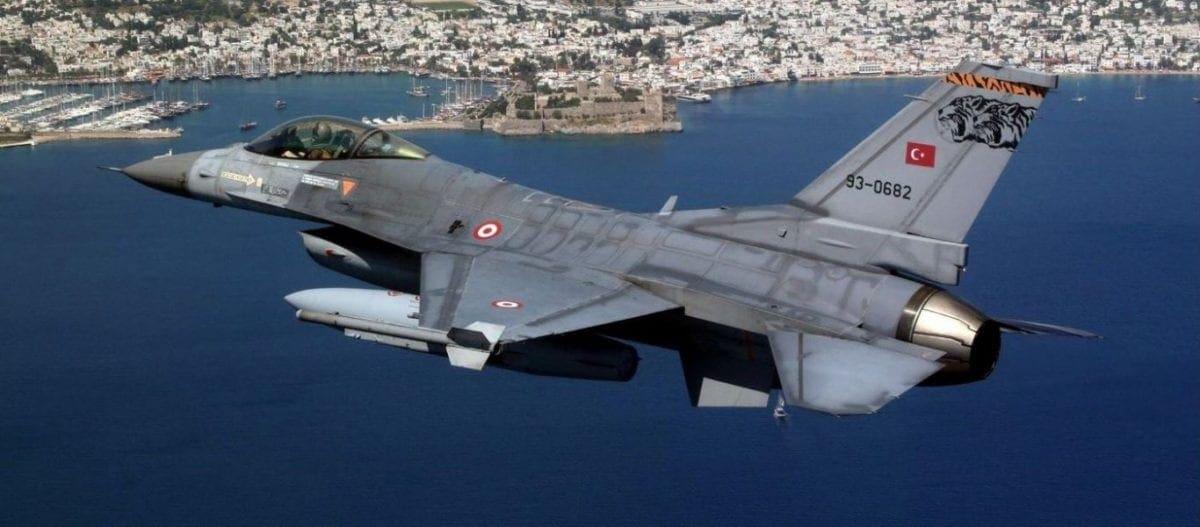 Οκτώ παραβιάσεις και μια εικονική αερομαχία από τουρκικά μαχητικά στο Αιγαίο