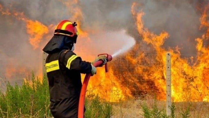 Πολύ υψηλός κίνδυνος πυρκαγιάς την Κυριακή 15/7/2018  στα Δωδεκάνησα