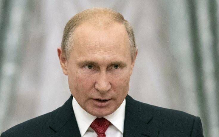 Πούτιν: Πονάει η καρδιά μου για τους νεκρούς από τις πυρκαγιές