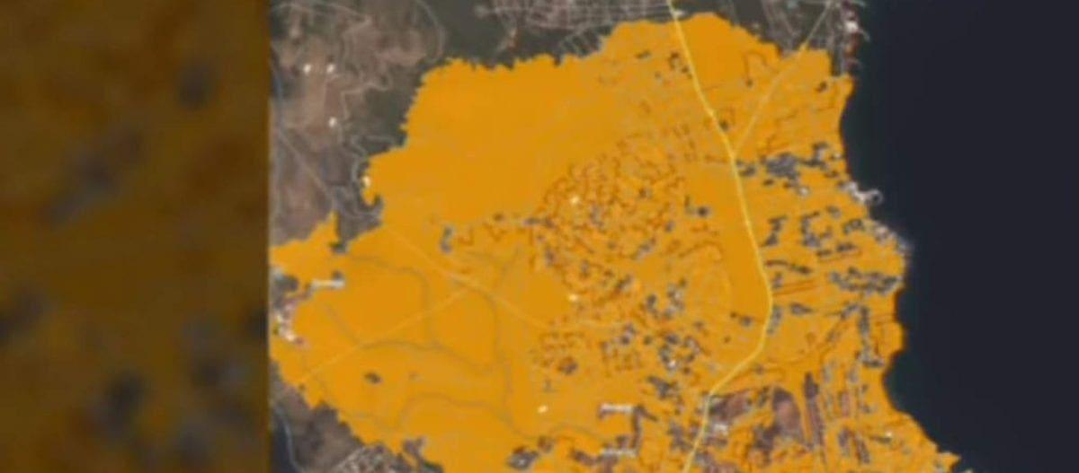 Μέσω δορυφόρου οι καταστροφές που προκλήθηκαν από τις πυρκαγιές (βίντεο)