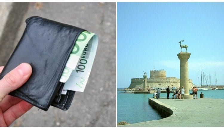 Ρόδος: Άνεργος οικογενειάρχης βρήκε πορτοφόλι γεμάτο χρήματα και το παρέδωσε στην αστυνομία