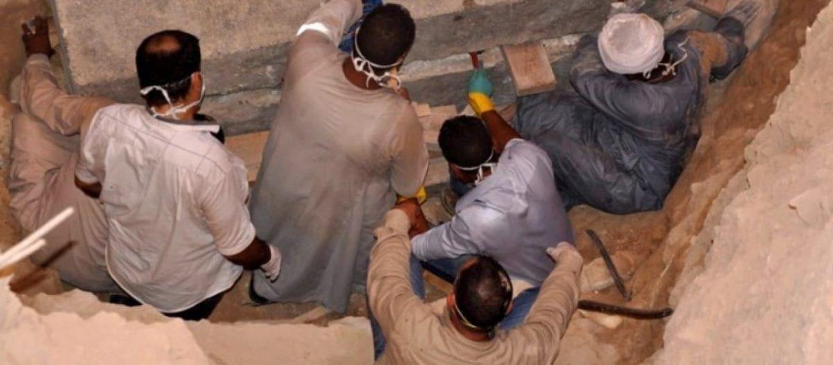 Τρεις σκελετοί μόνον βρέθηκαν στο εσωτερικό της τεράστιας σαρκοφάγου της Αλεξάνδρειας