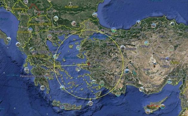 S-400: H νέα τουρκική πρόκληση με όλο το Αιγαίο στο στόχαστρο της Άγκυρας –  H Ρόδος μέσα στην ακτίνα δράσης των πυραύλων