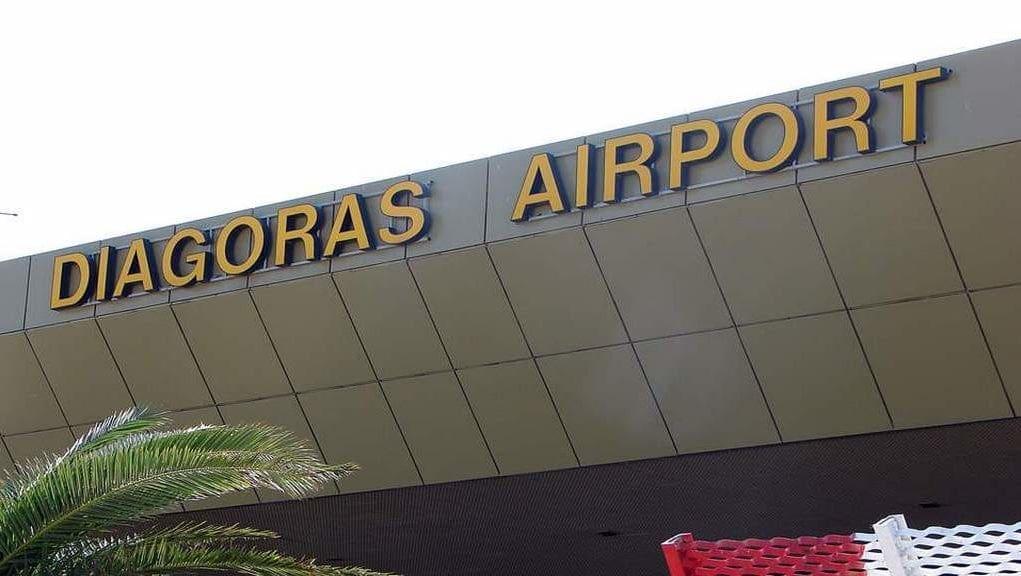 Ρόδος: Πρώτο το «Διαγόρας» από τα αεροδρόμια της Fraport