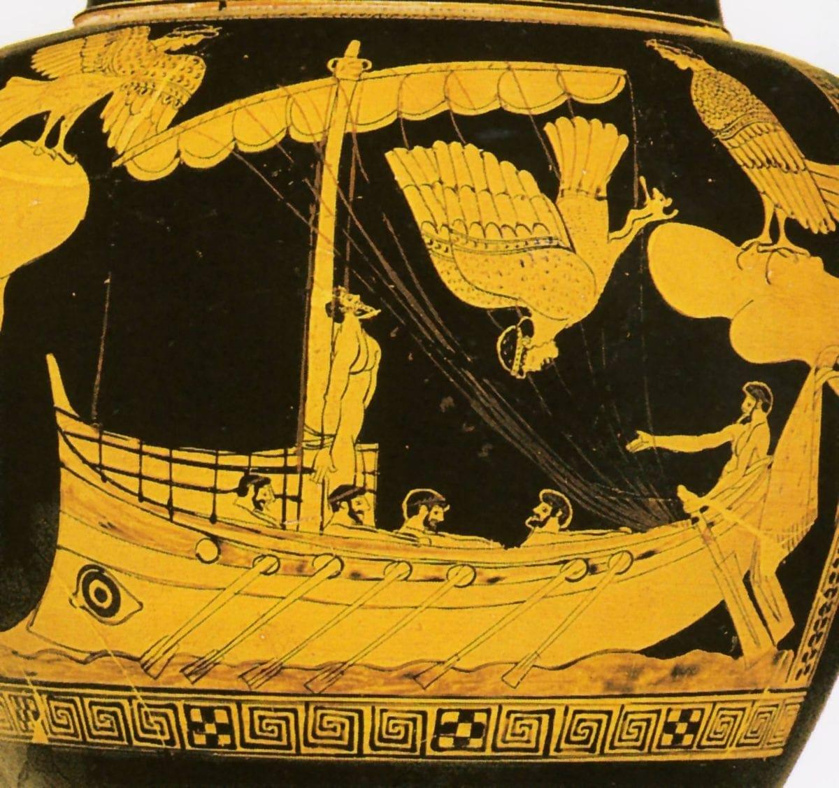 Η Ελληνική θαλασσινή μυθολογία και τα μυθογέννητα Ελληνικά νησιά