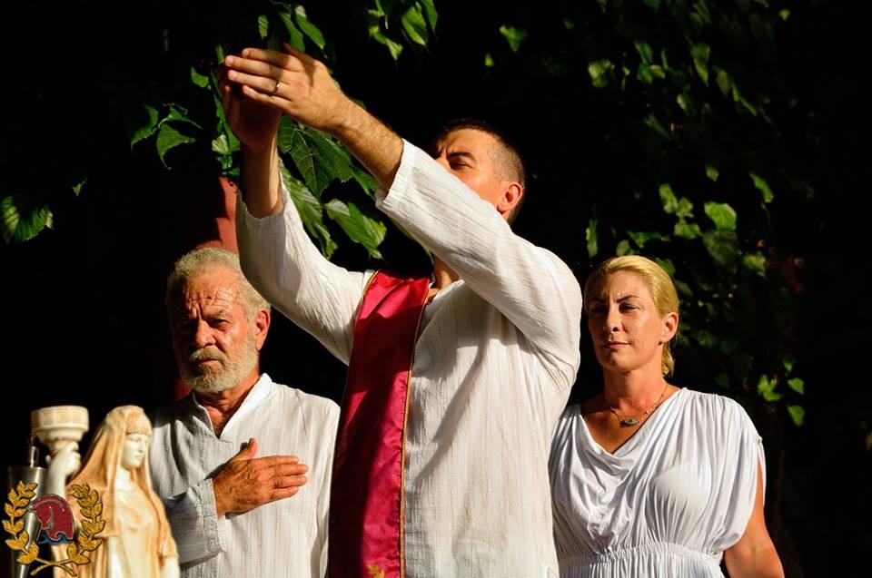 Οι Ρόδιοι Εθνικοί-Τελχινίς εορτάζουν τα Ηραία και τα Κάρνεια Ρόδια «2018»