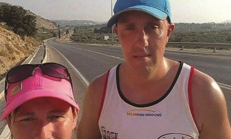 Βρετανός περπάτησε όλη τη Ρόδο σε 48 ώρες