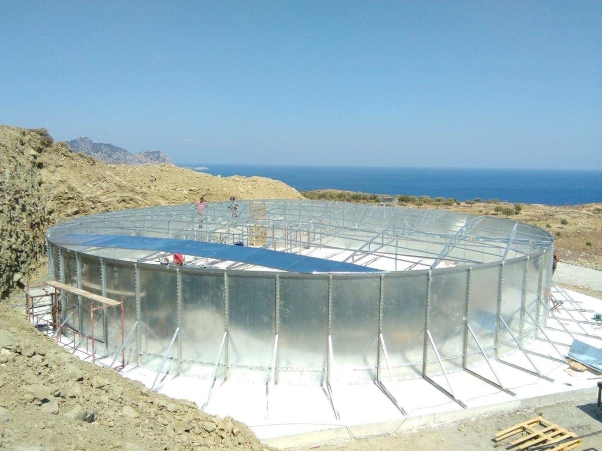 Ολοκληρώθηκαν τα κατασκευαστικά έργα που εξασφαλίζουν την  υδροδότησης των περιοχών Αρχαγγέλου, Στεγνών και Τσαμπίκας