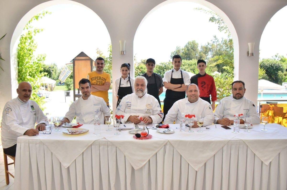 Ημιτελικός διαγωνισμός στη Ρόδο για την ανάδειξη του υποψηφίου European Young Chef 2018 της Περιφέρειας Νοτίου Αιγαίου