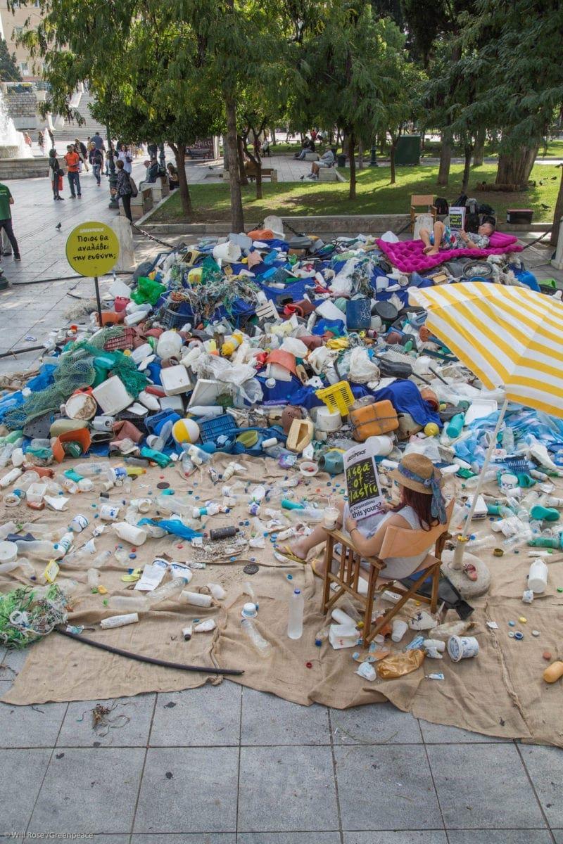 Greenpeace : Ποιος θα αναλάβει την ευθύνη;