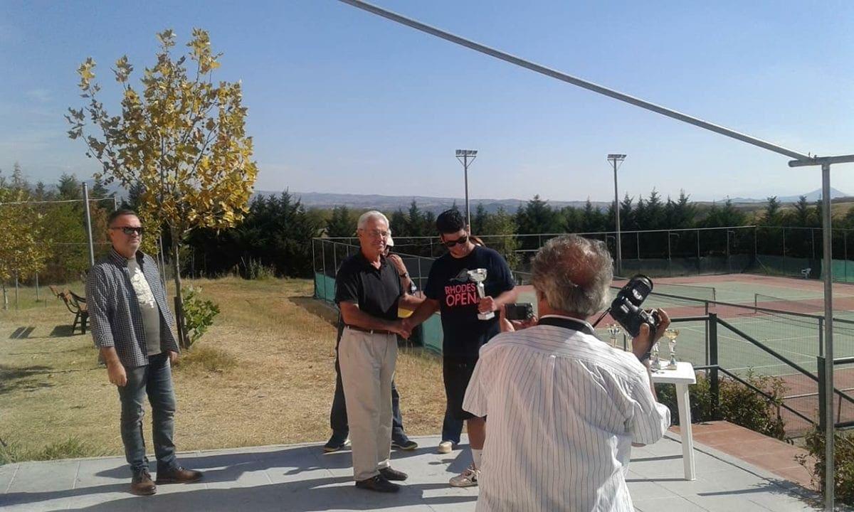 Διάκριση για τον Γιώργο Γλυνό στο Πανελλήνιο Πρωτάθλημα Τένις