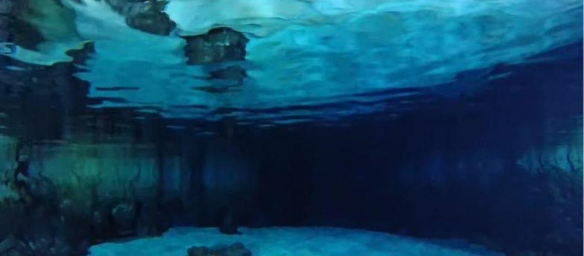 Μαγικά πλάνα από υποθαλάσσιο σπήλαιο – Ανακαλύφθηκε μετά από 6 χρόνια ερευνών (βίντεο)
