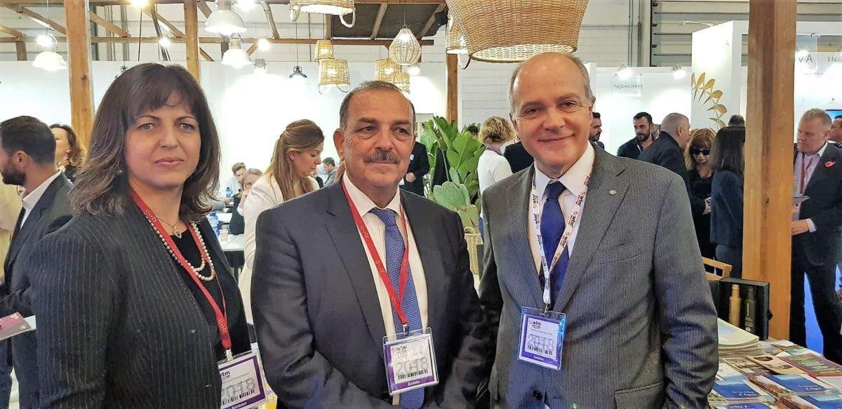 Παρουσία του Δημάρχου Φώτη Χατζηδιάκου στην Διεθνή ΈκθεσηWorldTravelMarketστο Λονδίνο και σημαντικές επαφές του