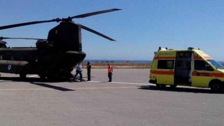 Διπλή αεροδιακομιδή από τη Ρόδο στο Ηράκλειο