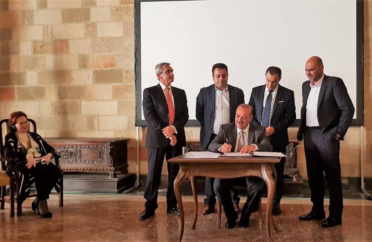 Υπογραφή Συμφωνίας συνεργασίας για την Μεσαιωνικη πόλη της Ρόδου στo πλαίσιo της επετείου για τα 30 χρόνια της Ρόδου στον κατάλογο των Πόλεων Παγκόσμιας Κληρονομιάς της UNESCO