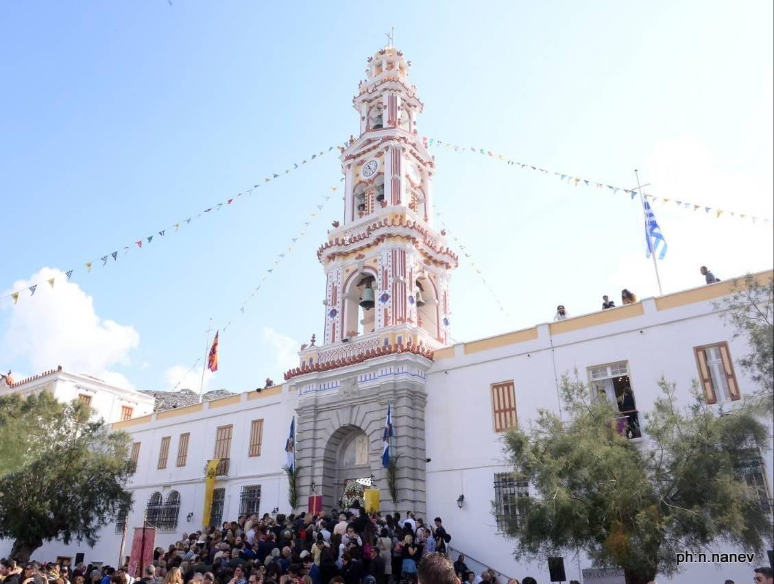 Γιώργος Χατζημάρκος: «Εκπληρώσαμε την δέσμευση μας για την αποκατάσταση του κωδωνοστασίου της Ι.Μ. Πανορμίτη