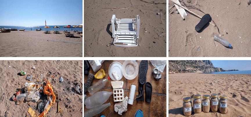 Ρόδος : Τριπλασιάζονται τα απόβλητα στις θάλασσες του νησιού λόγω τουρισμού