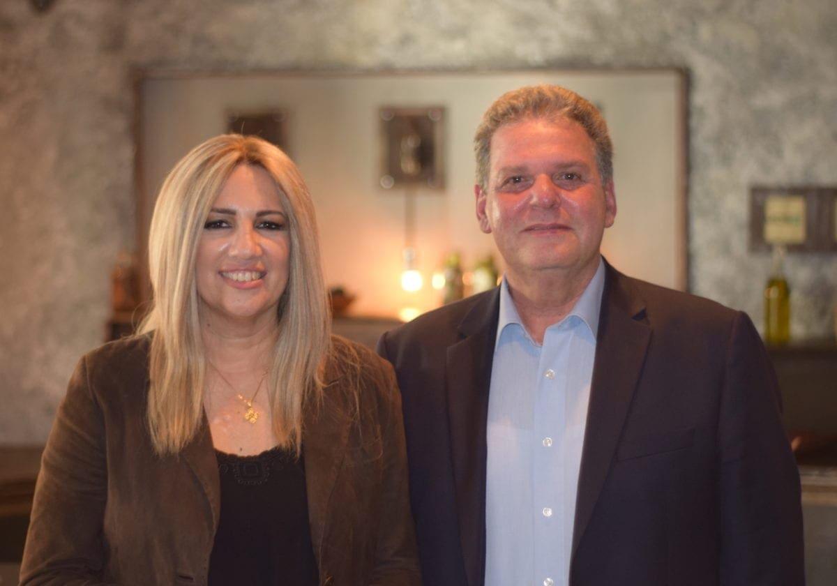 Συνάντηση του Υποψήφιου Περιφερειάρχη κ Μανώλη Γλυνού με την Φώφη Γεννηματά