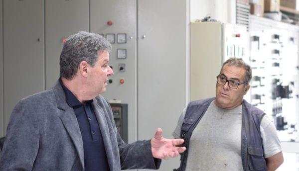"""""""Επίσκεψη του Υποψήφιου Περιφερειάρχη κ Μανώλη Γλυνού στο Εργοστάσιο Ηλεκτροπαραγωγής Σορωνής"""""""