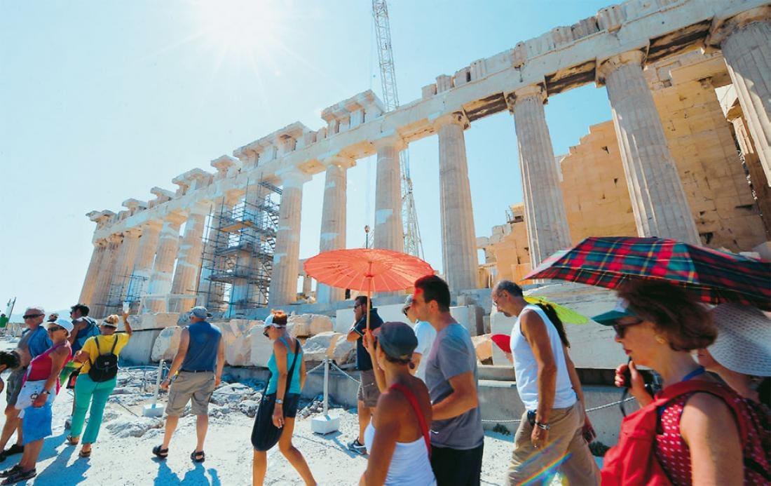 Αύξηση 10,3% σημείωσε η τουριστική κίνηση στο εννιάμηνο