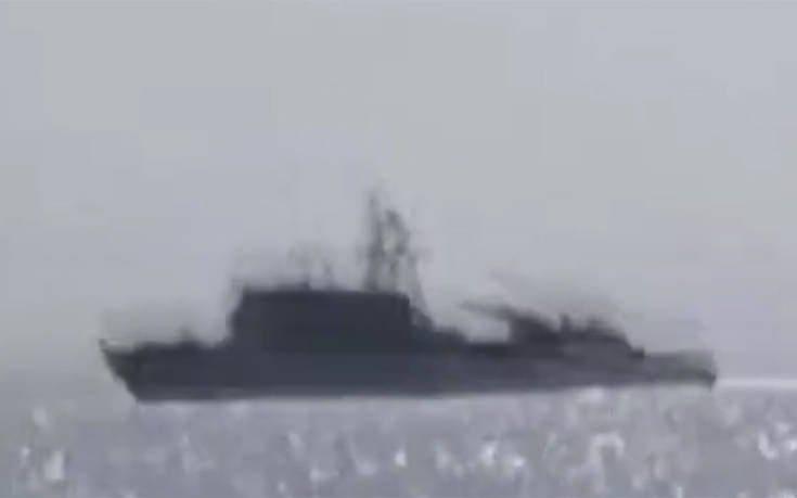 Οι Τούρκοι στήνουν προβοκάτσια και λένε ότι έδιωξαν σκάφος του Ελληνικού Πολεμικού Ναυτικού (video)