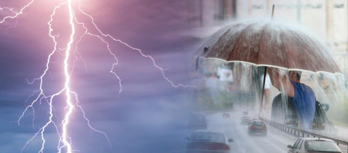 Έκτακτο δελτίο επιδείνωσης καιρού – Έρχονται ισχυρές βροχές και καταιγίδες