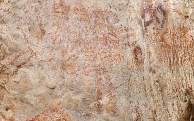 «Μαγνητίζει» η αρχαιότερη στον κόσμο σπηλαιογραφία
