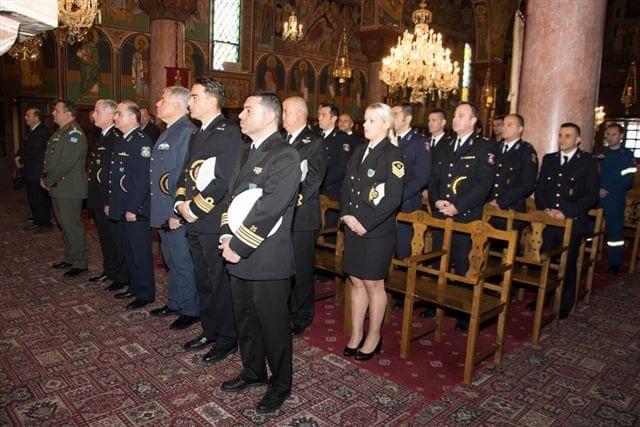 Με λαμπτότητα τελέσθηκε η δοξολογία για τον εορτασμό των Προστατών του Πυροσβεστικού Σώματος στη Ρόδο