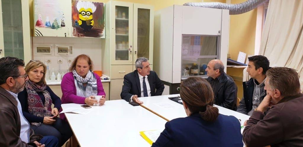 Το Μουσικό Σχολείο Ρόδου επισκέφθηκε ο περιφερειάρχης, Γιώργος Χατζημάρκος