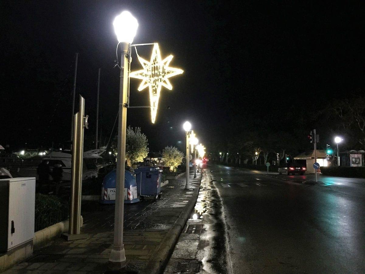 Σε εξέλιξη τα δύο έργα εκσυγχρονισμού και αναβάθμισης του δημοτικού φωτισμού στο κέντρο της πόλης
