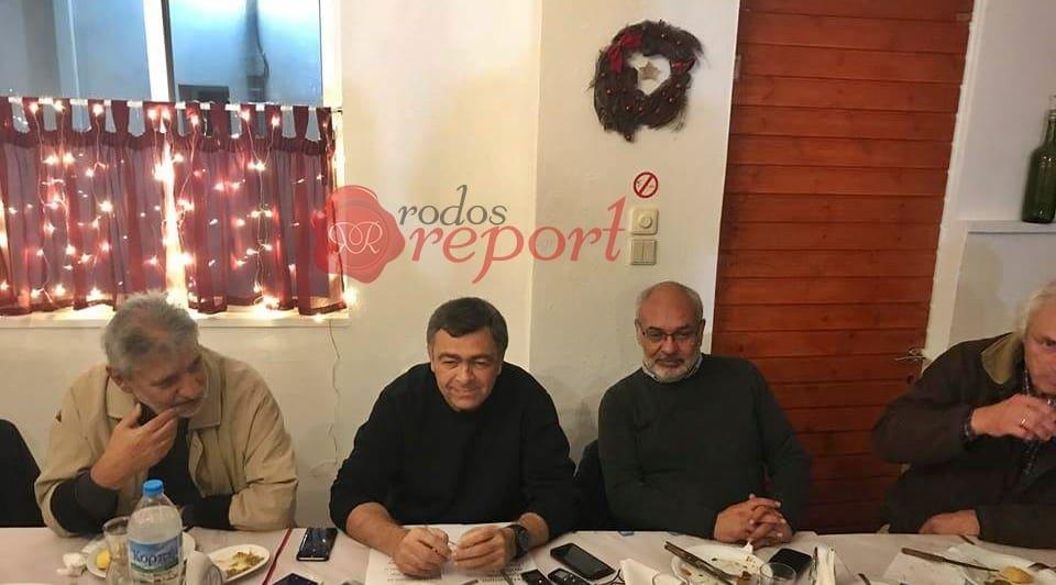 """Και επίσημα υποψήφιος δήμαρχος Ρόδου ο Δημήτρης Κρητικός – """"Ενώνουμε τις δυνάμεις μας πιστοί σε αξίες"""""""